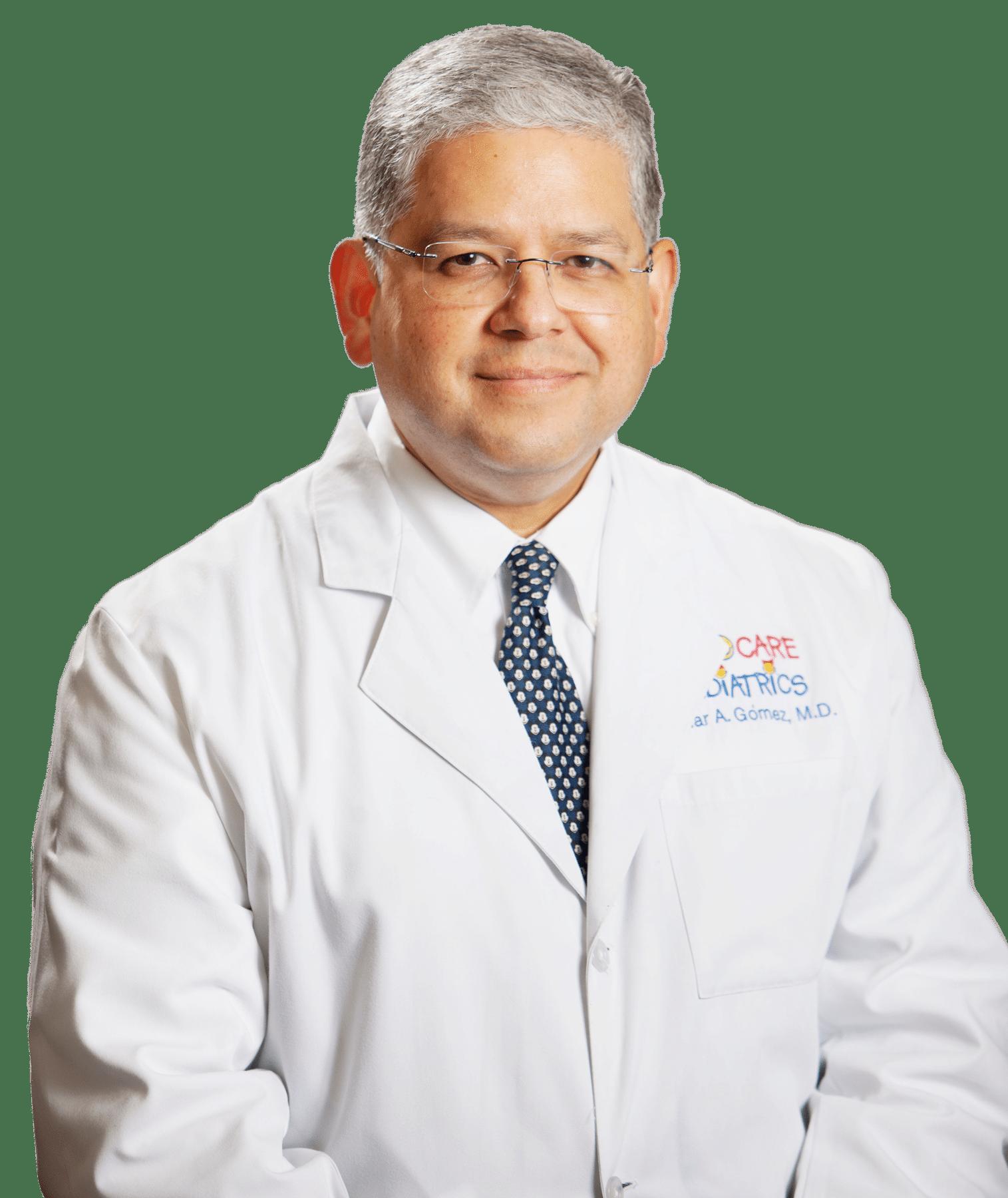 Dr. Omar A. Gomez at Kid Care Pediatrics