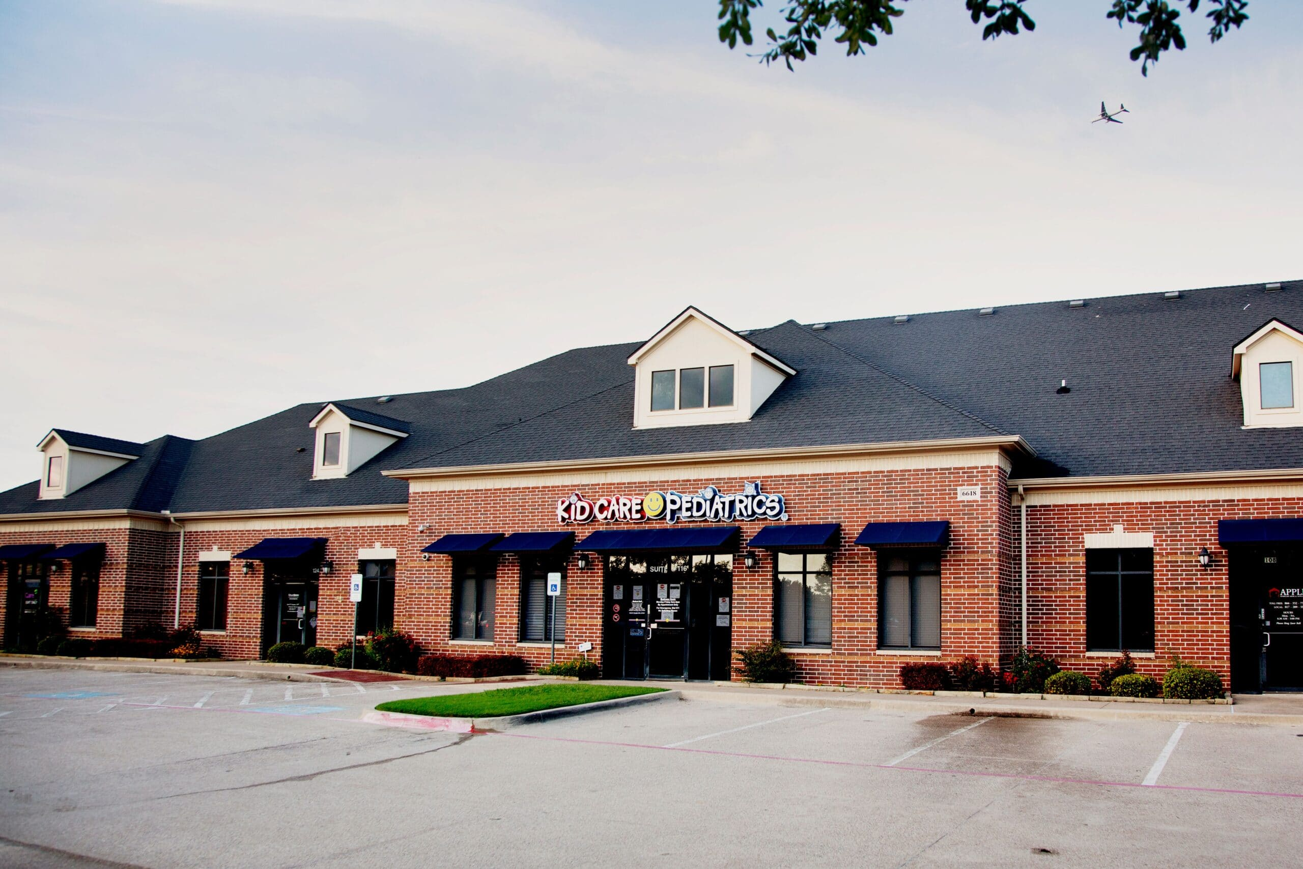 Kid Care Pediatrics office located in Fort Worth, Texas