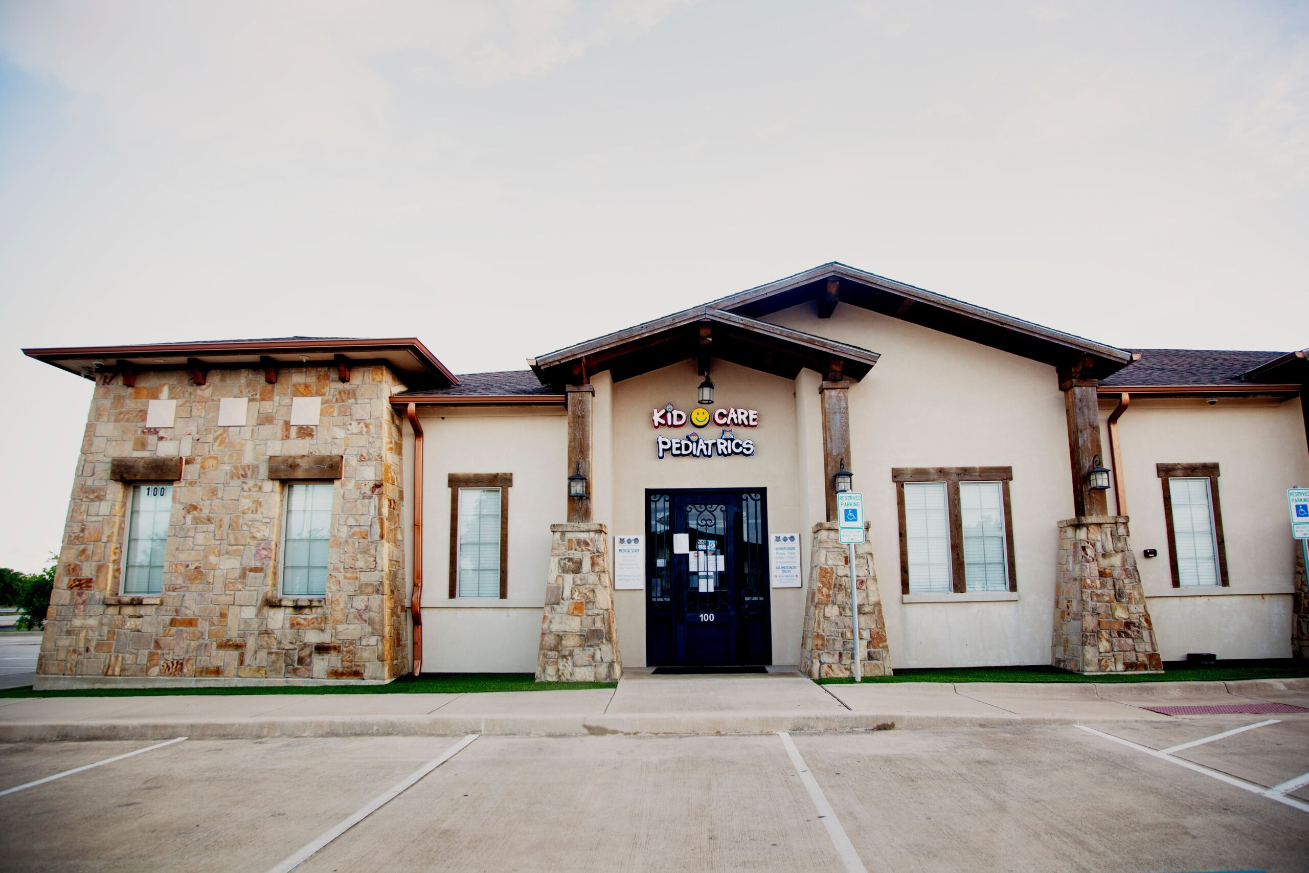 Kid Care Pediatrics office located in Haslet, Texas