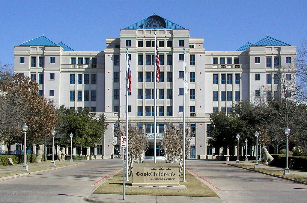 Cook Children's Medical Center located in Fort Worth Texas